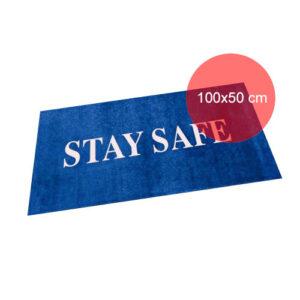Tæppe med eget tryk 100x50 cm